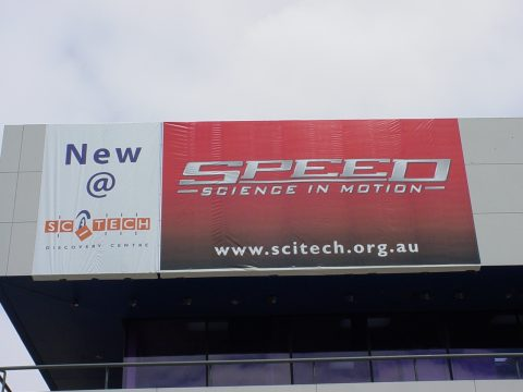 Pic of Scitech Banner Perth