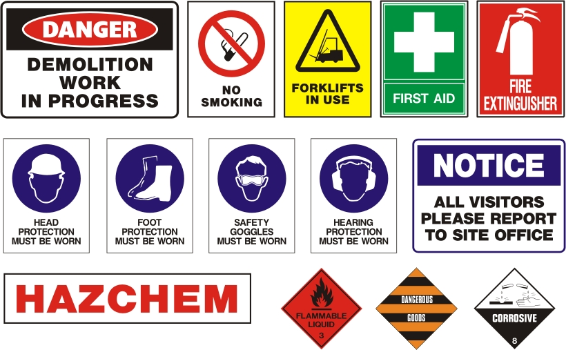 Safety Signs keep you out of trouble | Perth Graphics Centre
