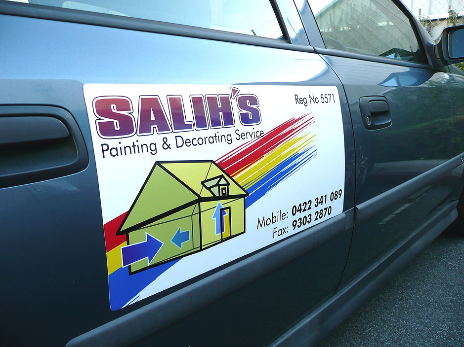 Magnetic signs or car magnets a cheap alternative to vehicle signage