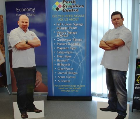 cardboard-cutouts-george-and-gary-masterchef