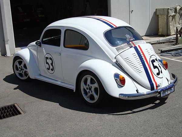 Herbie The Love Bug Volkswagen Beetle Decal Kit Perth