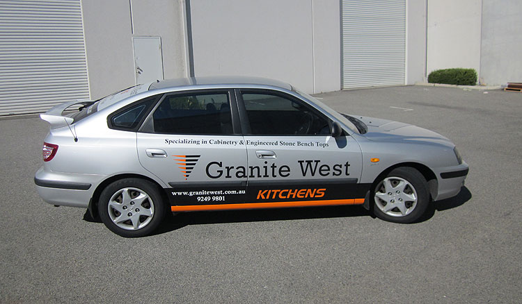 Car Signage  Perth Graphics Centre - Car signage