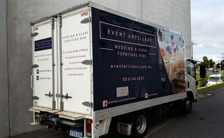Truck Wraps by Perth Graphics Centre